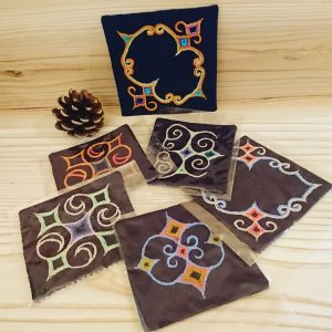 アイヌ刺繡